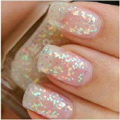 By Makeup Junkie Nikki. #nails #glitter #sparkle #beauty  @Bloom.COM