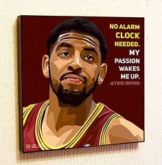 Kyrie Irving NBA Backetball Motivational Quotes Wall Decals Pop Art Gifts Portrait Framed Famous Paintings on Acrylic Canvas Poster Prints Artwork Geek Decor Wood >>> Visit the image link more details. Framed Canvas Prints, Canvas Poster, Artwork Prints, Canvas Frame, Poster Prints, Kyrie Irving, Irving Nba, Pop Art Pictures, Pop Art Posters