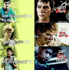Why Newt>>>I know right in the feels man not cool I'm gonna go cry in a corner