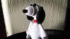 Snoopy recreado en filigrana! Hacemos también tus personajes favoritos, esperamos tu pedido. Búscanos en Facebook, link en la biografía. #quilling #quillingpaper #snoopy #peanuts #filigranadepapel