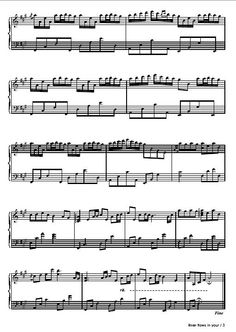 Piano sheet music note- river flows in you Sheet Music Notes, Piano Sheet Music, River Flows In You, Wordpress, Old Music, Music Theory, Listening To Music, You Changed, First Love
