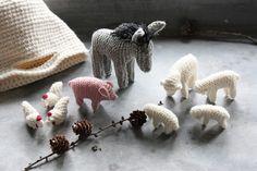 Super cute little knitted animals - andrella liebt herzen