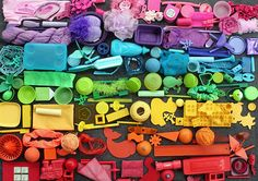raspberrytart:  rainbow junk (by rettgrayson)