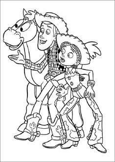 Mejores 27 Imagenes De Dibujos Para Colorear Toy Story En Pinterest