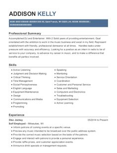 Summary Examples For Resume Resume Examples For 19 Year Old  Resume Examples  Pinterest .