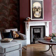 Rock & Roll Edwardian livingroom