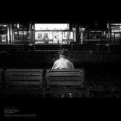 Lonely man  by MartinPauliSchrder