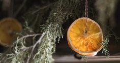 Rustic Homemade Christmas Decorations