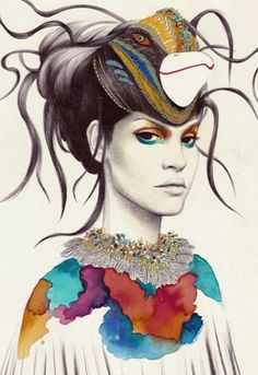Creative Sketchbook: Intriguing Fashion Illustrations by Camila do Rosari