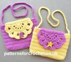 Super-Cute Crocheted Kids Handbag For A Mini-Fashionista