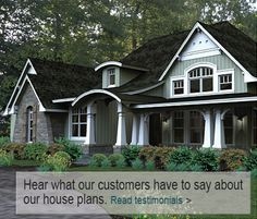 House plans home plans from better homes and gardens for Lakefront property under 100k