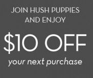 Save $10 With Voucher Code at Hush Puppies!