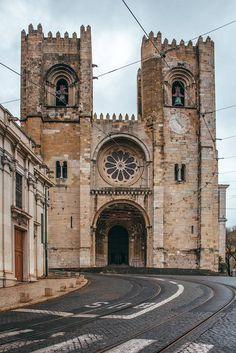 Lisbon, Notre Dame, Barcelona Cathedral, Building, Travel, Masons, Lisbon Portugal, Places, Castles