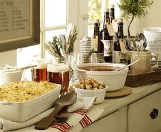 COMFORT FOOD PARTY, PERFECT FOR FALL ENTERTAINING!