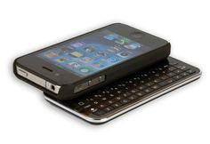 iPhone Slideout Keyboard Case @ Sharper Image
