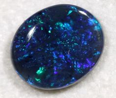 1.53cts Black Opal With Great Fire