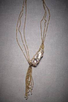 Neptune's catch necklace; #jewelry; #necklace; $160