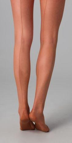 Back seam tights!