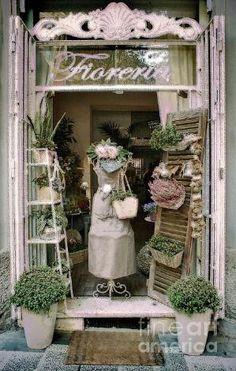 Florist shop in Rome