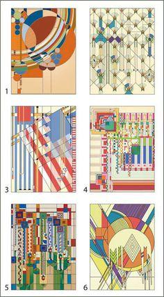 Frank Lloyd Wright Block Puzzle