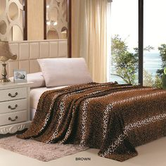 I found this amazing Super-Soft Leopard Print Micro Plush Blanket - Assorted Colors at nomorerack.com for 66% off. Sign up now and receive 10 dollars off your first purchase