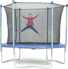 10 Foot Trampoline with Enclosure*