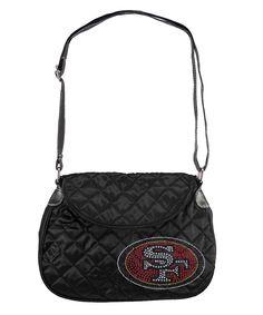 San Francisco 49ers NFL Sport Noir Quilted Saddlebag