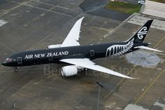 EPIC: Aerial Photo of Air New Zealand's First Boeing 787-9 Dreamliner