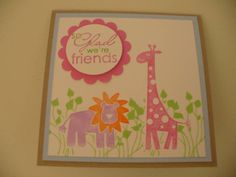 Wild about You Pop Up Card Outside by Tuppergirly - Cards and Paper Crafts at Splitcoaststampers
