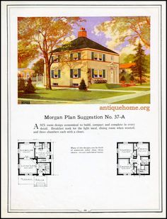 https://flic.kr/p/JDg4D6 | Morgan House Plan Suggestions::Building with Assurance | Building with Assurance - 1923 www.antiquehome.org