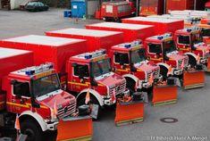 Feuerwehr Hamburg Unimogs