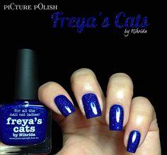 Picture Polish: Freya's Cats
