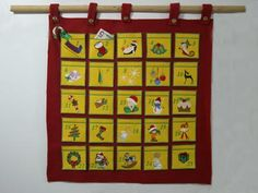 Please Repin!  Advent Calendar Machine Embroidery Designs  http://www.designsbysick.com/details/advent
