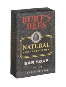Burt's Bees Bay Rum products: This is heavenly. Sometimes I use it, when I'm feeling androgynous.