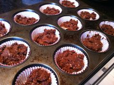 Chocolate Muffin in a Mug Converted for Oven (S) - Make your MIMs ahead!
