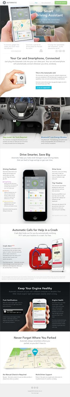 Automatic - Smart Driving Assistant