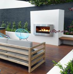 Family outdoor living area
