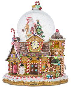 Christopher Radko Candy Village Snowglobe | macys.com