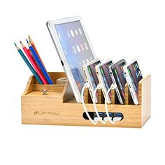 Charging Station,Firstbuy Bamboo Charging Dock Multi Device Charging Stand Cable Cords Desktop Organizer,Compatible with Most of the 4/5/6 Port USB Charger for Smartphones and Tablets  http://topcellulardeals.com/product/charging-stationfirstbuy-bamboo-charging-dock-multi-device-charging-stand-cable-cords-desktop-organizercompatible-with-most-of-the-456-port-usb-charger-for-smartphones-and-tablets/  A Special: Bigger than others which is selling on AMAZON now,Wider than other