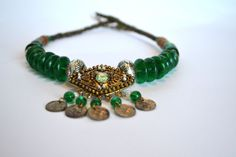 Vintage Necklace Neck Ring Ethnic India by MyLittleVintageRoom