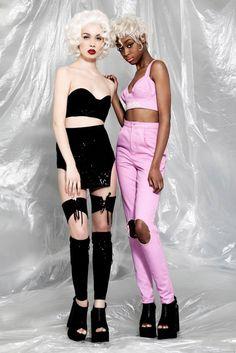 #ObscureRebellion lookbook SS15 collection| Photographer  @danny_baldwin | Stylist Malita Harradine & @xplicit_minni | Hair @jackgallagherhair Mua Jade Davison models @instagirlonfilm & @Michaela Ireland