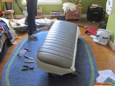 How to Reupholster a Truck Seat - YouTube