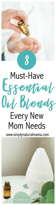 Wow!  This was an amazing post with every single essential oil blend I will need as a new mom!  Now, I am all set for my baby to get here! via @simplynaturalma