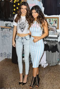 Proud designers: Kendall Jenner and Kylie Jenner were looking stunning at the Glendale Galleria in Los Angeles on Saturday as they appeared to promote their newest collection for PacSun  Read more: http://www.dailymail.co.uk/tvshowbiz/article-2496137/Kendall-Jenner-shows-tiny-waist-crop-models-new-PacSun-collection-sister-Kylie.html#ixzz2lISmDZlM  Follow us: @MailOnline on Twitter | DailyMail on Facebook