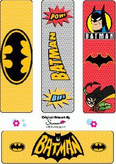 Batman printables including Batman invitations with coloring pages and Batman bookmarks. Free Printable Bookmarks, Free Printables, Batman Party Supplies, Batman Birthday, Boy Birthday, Birthday Parties, Book Markers, Lego Batman, Batman 2017