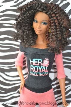 natural doll with twist out - how AWESOME would it have been to grow up with dolls like this?!