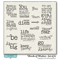 Words Of Wisdom | ... though, and I invite you to comment with your own words of wisdom too