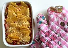 Low FODMAP Taco schotel met gehakt (ook glutenvrij)