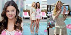 Candice Swanepoel y Miranda Kerr para Victoria's Secret Swimwear 2012