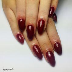 ❤️Red nails❤️... #nail #nails #gelnails #classic #rednails #fashion #style #cute #beauty #beautiful #pretty #girl #girls #stylish #nailcolor #styles #nailart #art #photooftheday #ongles #unhas #rosso #love #polish #nailpolish #nailswag #nailporn